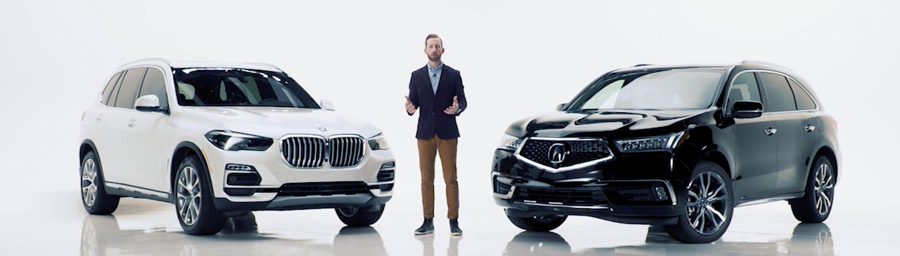Acura comparison conquest campaign
