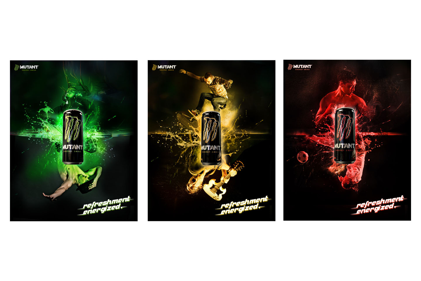 Mutant Energy campaign to promote brand in Cambodia, Myanmar and Vietnam